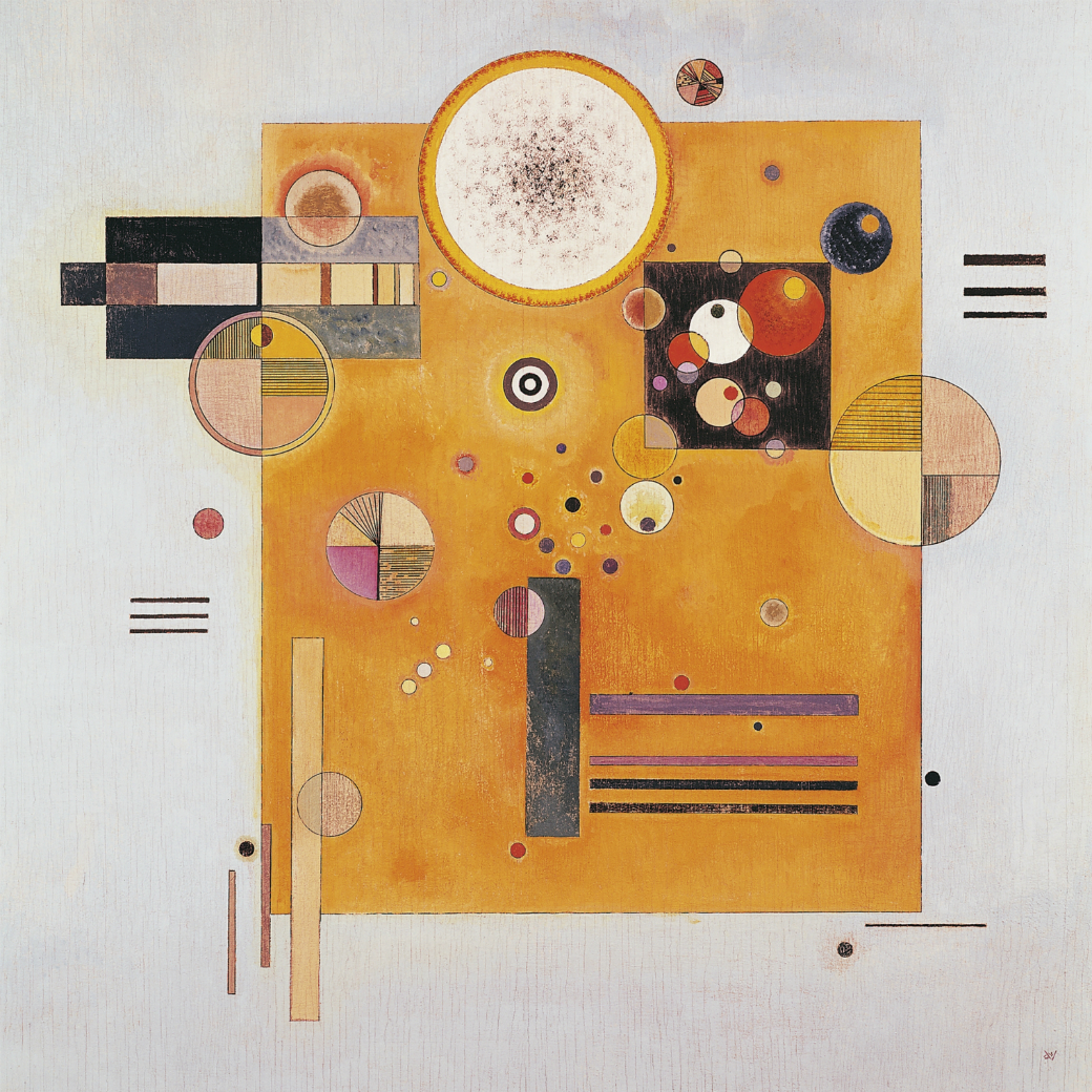 Kandinsky, Wassily (1866-1944): Soft pressure, 1931. Russia, 20th century. Private Collection. ©2019, DeAgostini Picture Library/Scala, Florence.